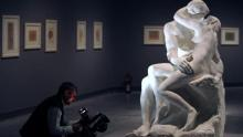 Cast of Rodin's 'The Kiss' sells for record 2.2m euros
