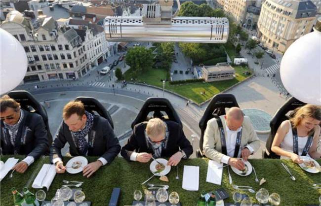 Dinner in the sky!