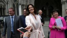 Ex-model wins 53 million pounds in divorce from Saudi billionaire
