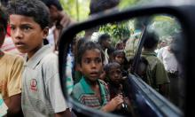 Hundreds of Rohingya flee Myanmar army crackdown to Bangladesh