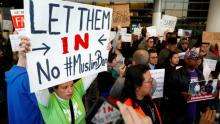 Judge blocks part of Trump's immigration ban for those in US