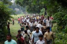Bangladesh resurrects plan to move Rohingya refugees to flooded island