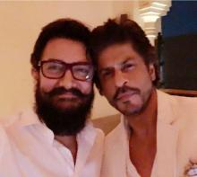 Shah Rukh & Aamir Khan star together in one frame