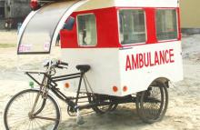 Cheap solar ambulances to speed into service in rural Bangladesh