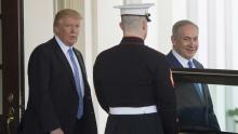 Trump drops US commitment to 'two-state' Mideast deal