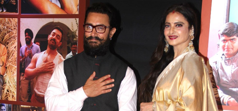 Aamir Khan gets emotional after reading handwritten letter by Rekha