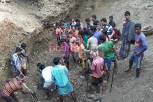 2 labourers killed as limestone pit collapses in Jaflong