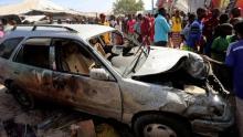 At least 16 people killed at Somalia Mogadishu car bomb