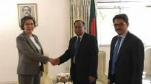 Dhaka urges international community to address influx of Rohinga refugees