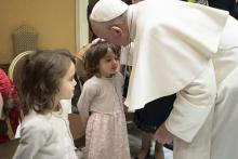 Pope meets families of victims from Holey Artisan attack
