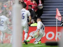 Casemiro sends Real five points clear