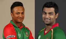 Shakib, Tamim make Joy Bangla Trophy more adorable