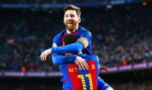 Messi nets 40th, 41st goals this season in Barcelona win