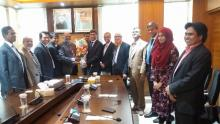 ICSB delegation meets BSEC chairman