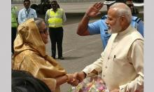 Modi says he and Hasina determined to take bilateral ties to new level