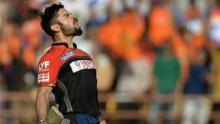 Kohli pain after Bangalore set new low in IPL