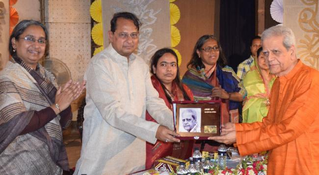 11 eminent personalities honoured with 'bbarta gold medals'