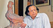 Aparajeyo Bangla sculptor Abdullah Khalid no more