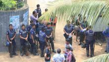 Raid at Savar 'militant dens' ends; 7 grenades, 3 suicide vests recovered