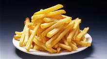Eating french fries could kill you