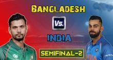 Bangladesh set 265-run target for India