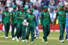 Bangladesh cricketers return home