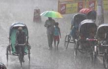 Rain, thundershowers likely Monday
