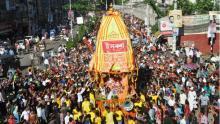 Lord Jagannath's Ratha Yatra begins