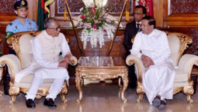 President for exploring trade between Bangladesh and Sri Lanka