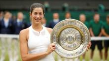 Garbine Muguruza overwhelms Venus Williams to lift maiden Wimbledon title