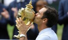 'It's magical': Federer joy at record 8th Wimbledon title