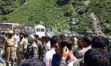 Bus plunges into Indian Kashmir valley, 16 Hindu pilgrims killed