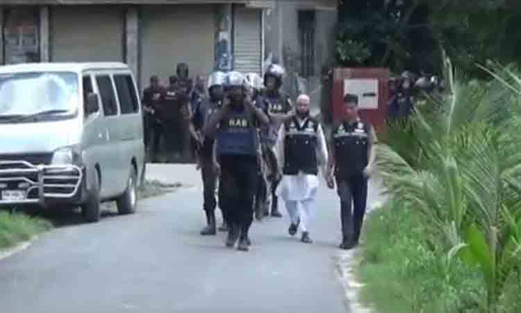 RAB concludes drive at Ashulia den with surrendering 4 militants