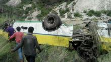 30 feared dead as bus plunges into 300 metre gorge in India