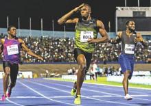 London braced for Bolt swansong