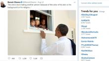 Obama tolerance tweet becomes most liked