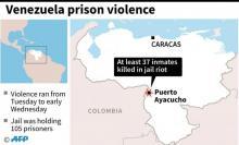 37 killed in Venezuela jail riot