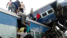23 dead, dozens hurt as train derails in India