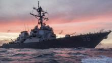 10 sailors missing after US destroyer collision off Singapore