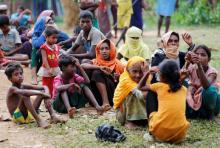 27000 Rohingya enter Bangladesh after fresh violence