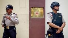 Petrol bomb thrown at Myanmar embassy in Indonesia