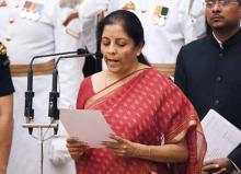 India names first female defence minister