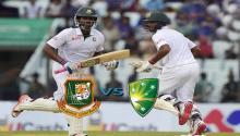 Bangladesh 70-3 at lunch against Australia