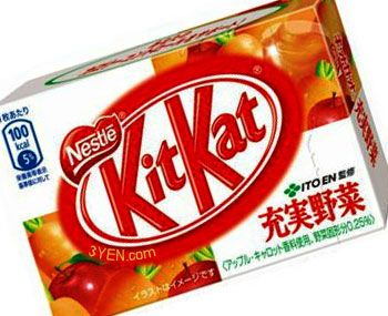 KitKat bets on weird and wonderful flavours in Japan