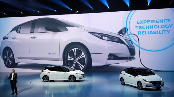 Nissan unveils new electric car in bid to drive off competition