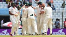 Bangladesh dismiss 2nd innings at 157 in last Test