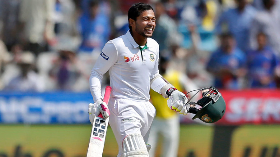 Mushfiq, Mustafizur, Miraz climb up in ICC Test player ranking