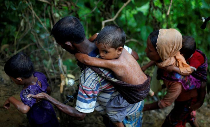UN appeals for aid as Rohingya refugee exodus nears 300,000