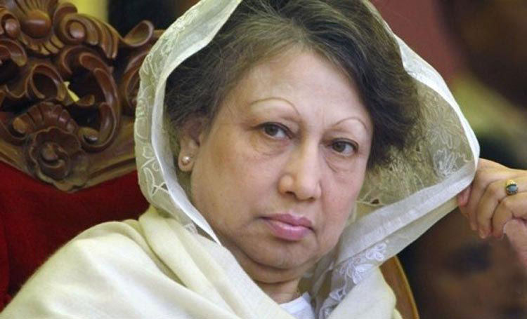Khaleda's appearance in 11 cases on Oct 15