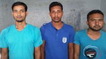 3 'Neo-JMB' men detained in Rajshahi